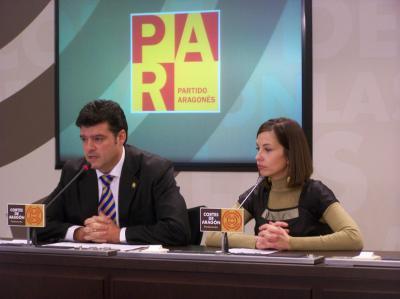 ALLUE (PAR) PIDE EL MISMO TRATO PARA ARAGÓN QUE EL DADO PARA ANDALUCÍA EN MATERIA HIDRÁULICA