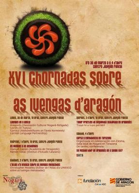 XVI CHORNADAS SOBRE AS LUENGAS D'ARAGÓN