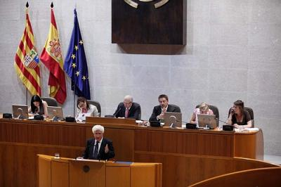EL JUSTICIA PRESENTA SU INFORME ANUAL EN LAS CORTES
