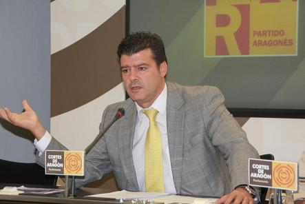 ALLUÉ (PAR) DENUNCIA QUE ARAGÓN QUEDA EXCLUIDA DE FONDOS ESTATALES PARA COMUNIDADES CON NUEVO ESTATUTO