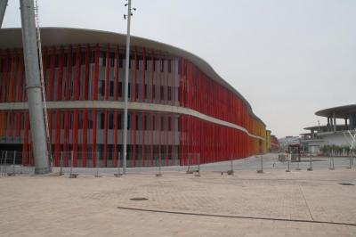 IMÁGENES DE LAS OBRAS DEL RECINTO EXPO ZARAGOZA 2008