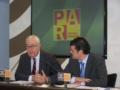 EL PAR PRESENTA LA PROPOSICIÓN DE LEY DE AGUAS Y RÍOS DE ARAGÓN