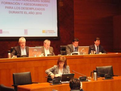 ACTUACIONES EN FORMACIÓN Y ASESORAMIENTO PARA DESEMPLEADOS EN 2010