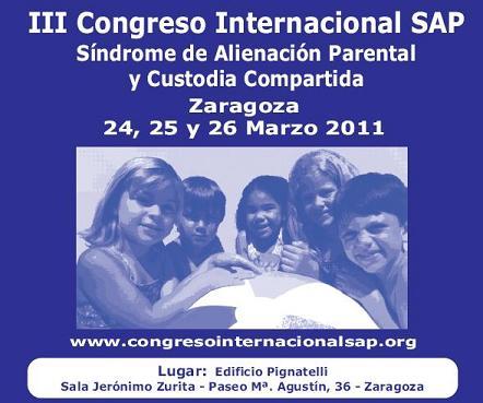 CONGRESO SAP Y CUSTODIA COMPARTIDA EN ZARAGOZA