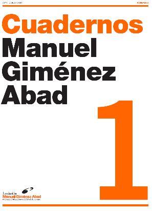 CUADERNOS DE LA FUNDACIÓN MANUEL GIMÉNEZ ABAD