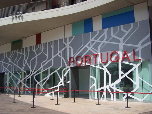 Pabellón Portugal por ti.